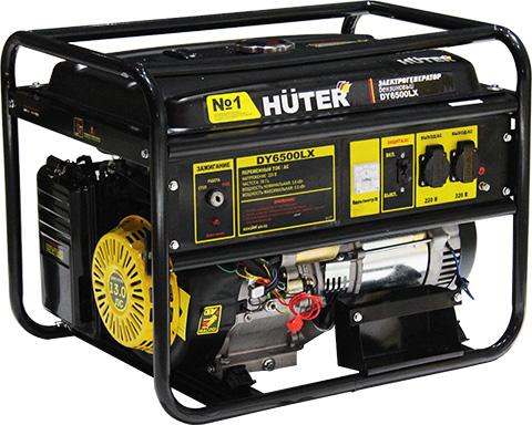 Бензиновый генератор HUTER 6500 LX