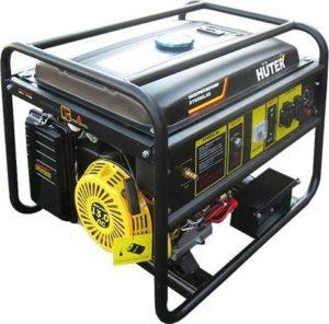 Генератор Huter DY6500LXG бензин + газ