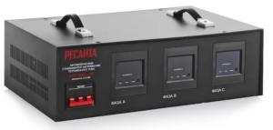 Стабилизатор напряжения РЕСАНТА АСН-4500/3-ЭМ